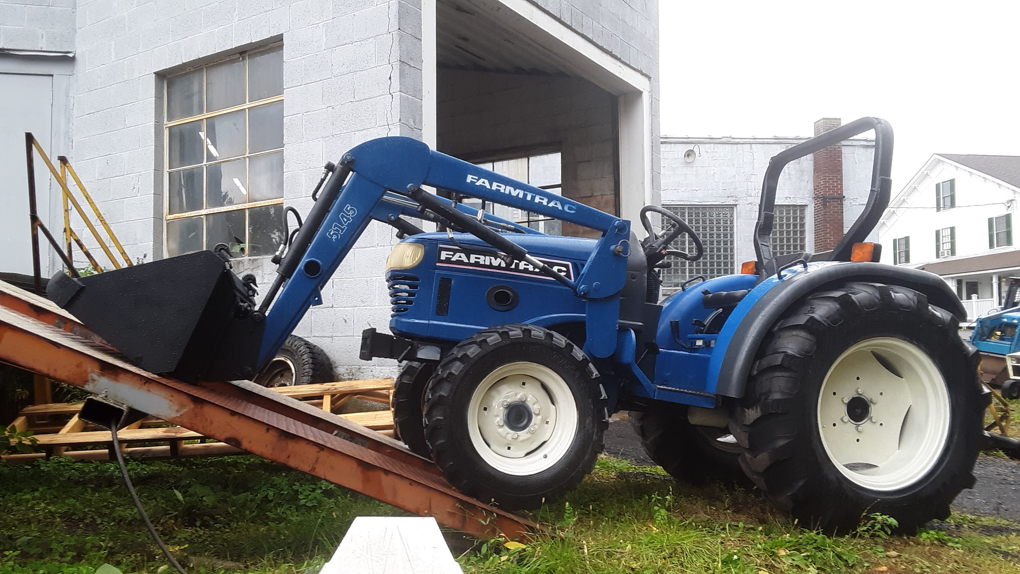 Used Farmtrac Tractor & 5145 Loader