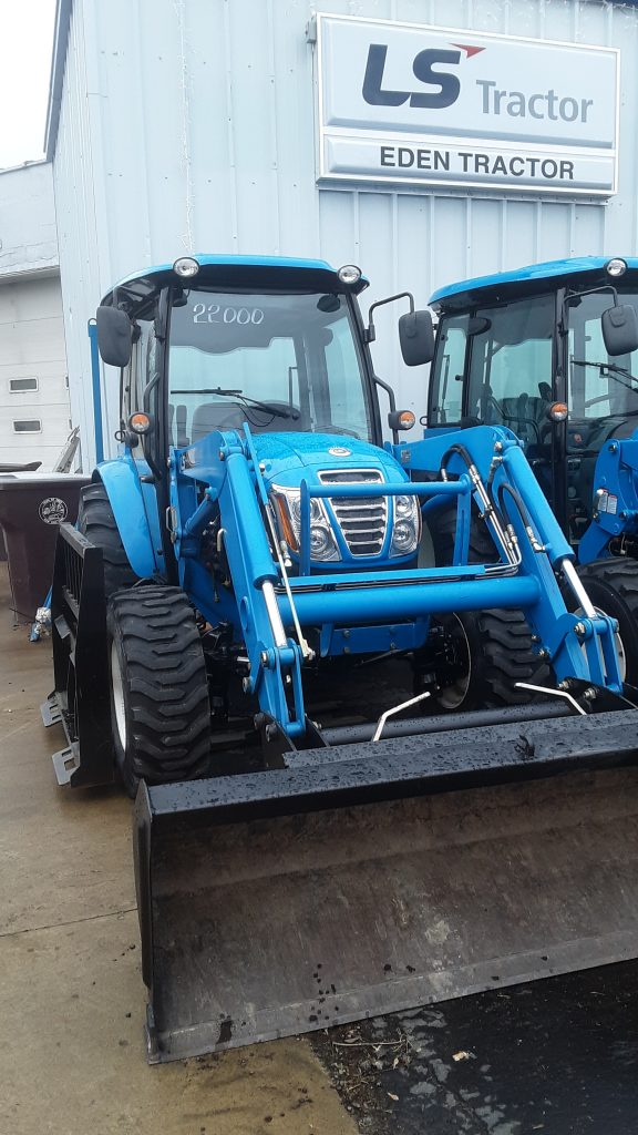 Used 2014 LS Tractor & Loader for sale