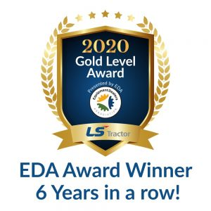 LS Tractor USA Equipment Dealer Gold Award